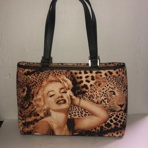 Handbags - New Marilyn Monroe Cheetah Screen Print Purse